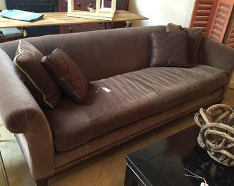 Vintage Ralph Lauren Velvet Sofa