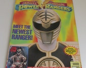 90s Power Rangers MAGAZINE 1994 Power Rangers books The Mighty Morphin Power Rangers Magazine Quarterly Saban Power Rangers Action Figures