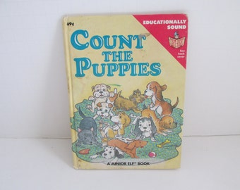 Count the Puppies Childrens Books Counting Books Toddler Books Learning to Count Puppy Books A Junior Elf Book