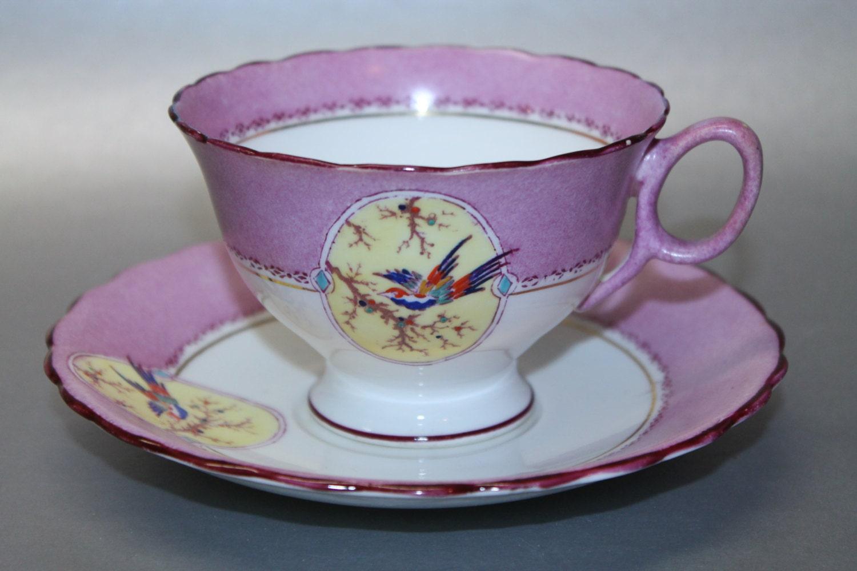 atlas china grimwade bone china teacup and saucer set. Black Bedroom Furniture Sets. Home Design Ideas