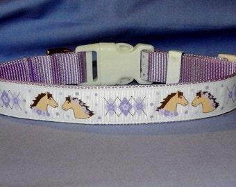 Lavender Horseheads collar