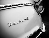 Panhard black and white photography classic car photography large wall art car poster car print car photo garage decor boys room decor