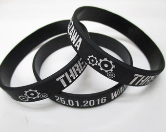 Three Days Grace  Wristband Poland