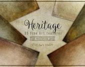 Heritage Fine Art Textures, Photoshop Textures