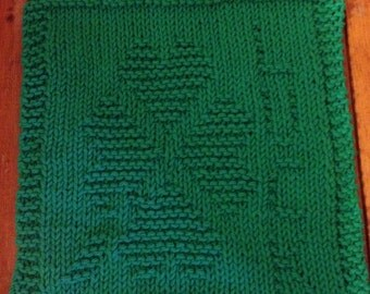 St. Patrick's Day Dishcloth