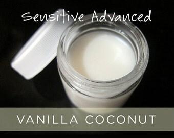 Sensitive ADVANCED Vanilla Coconut Organic Deodorant