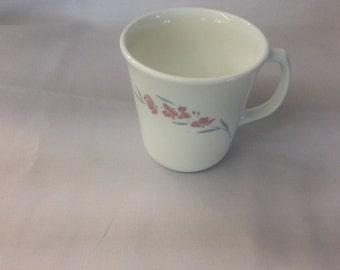 Vintage Corele Silk Blossoms Cup