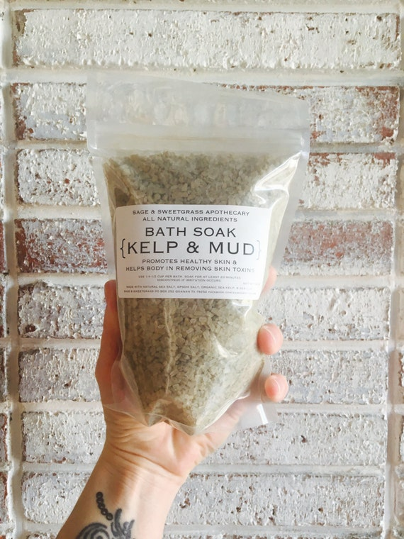 Kelp Mud Soak {Soothing + Cellulite + Anti-aging + Detox + Nourishing + Softening}