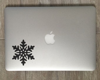 Snowflake - Vinyl Decal - Laptop Decal - Macbook Decal - Laptop Sticker - Macbook Sticker - Vinyl Sticker - Car Decal