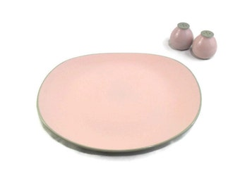 Shell Pink Harkerware Oval Serving Platter