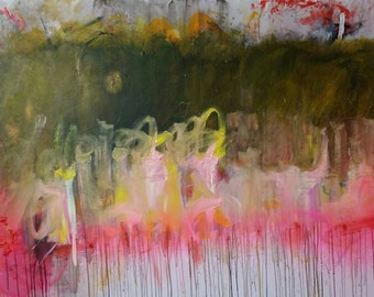 Play With Me - Original Abstract Acryllic painting on canvas