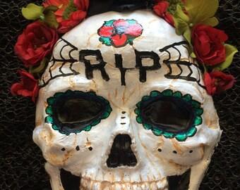 Skeleton Dia de los Muertos Mask