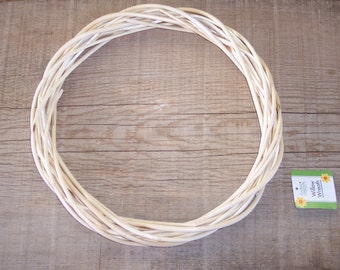 12 inch willow wreath,natural,crafts,primitive,rustic,country,floral wreath