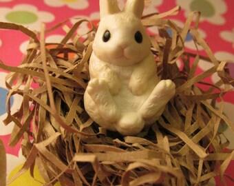 Kawaii White Bunny Rabbit Cutie Toy Necklace