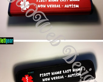 Medical Alert Seat Belt Cover, Medical Condition, Medical Alert, Special Needs Seat Belt Cover