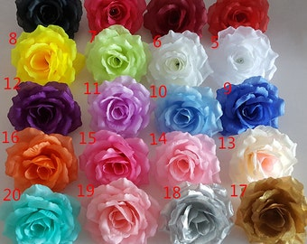 silk flower heads wholesale silk roses heads 100 flowers 10cm for flower wall kissing balls wedding