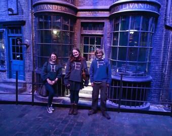Handknitted Weasley Jumper - Child