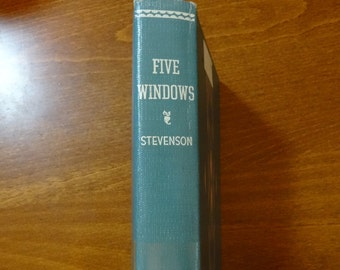 Five Windows by D.E. Stevenson 1953 Published in USA
