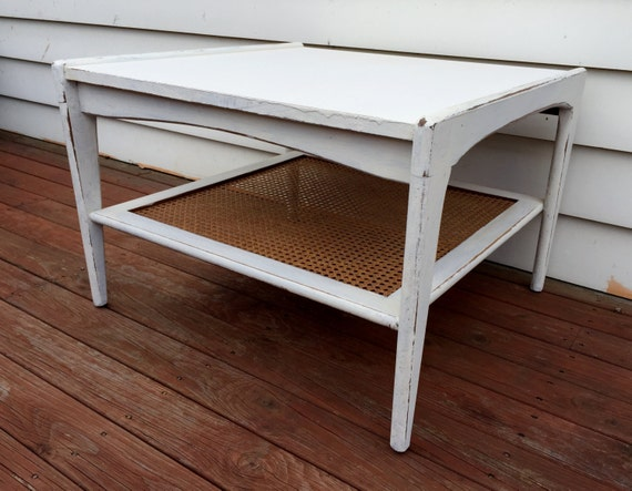Rustic white wooden coffee table buy online and collect in for Buy white coffee table