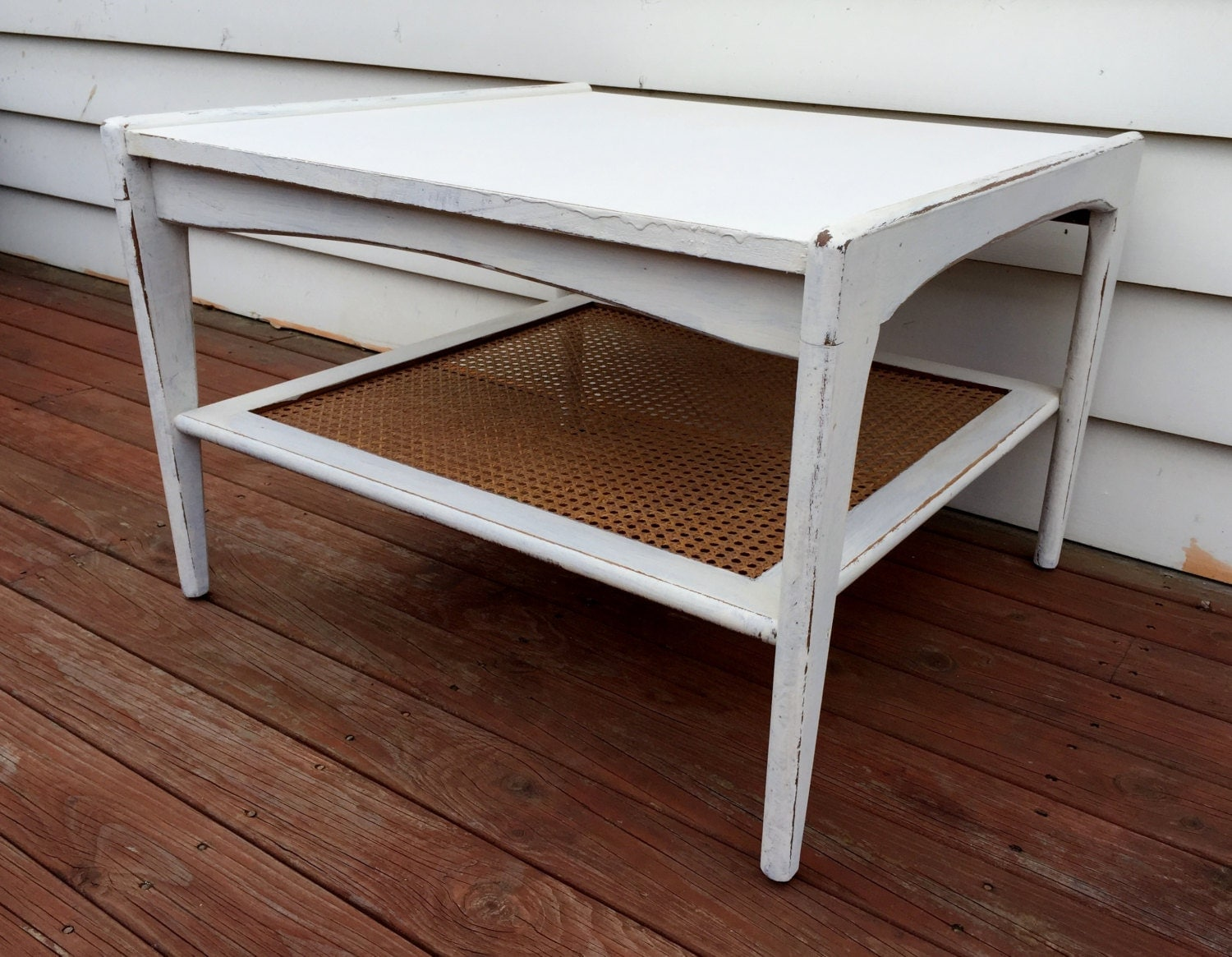 Rustic White Wooden Coffee Table Buy Online And Collect In