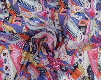 TCA-Mango Fuschia Hi Multi Fabric By the yard Style 1281