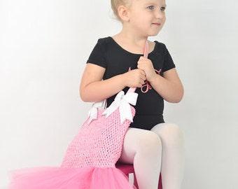 Tutu Dress Ballet Bag, Ballet Bag, Tote Bag, Dance Bag, Tutu Ballet Bag, Dance Accessories