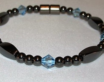 """12 colors to choose from""""Austrian Crystal Simply Seductive"""" Birthstone Crystal Bracelets"""