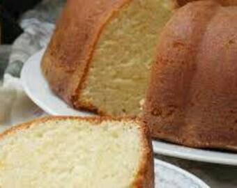 Buttermilk Bundt Pound Cake