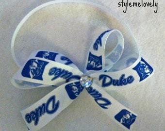 Duke Blue Devils Bow Headband