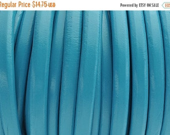 up to 50% Off Blue Moon Licorice Leather 10mm x 6mm - Thick Leather Cord - 2ft/24""