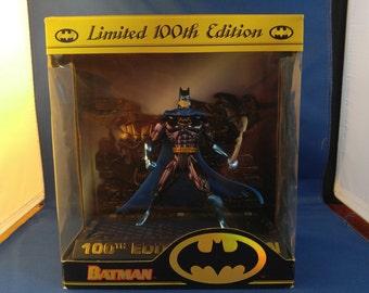 Batman Limited 100th Edition figurine