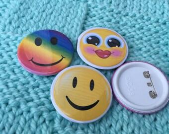 Smile Face Battons