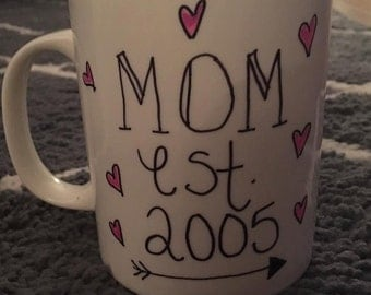 "Custom made ""Mom"" mugs!"