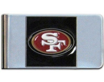 Personalized Licensed San Francisco 49ers Money Clip