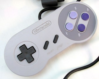 Super Nintendo SNES Controller - Cleaned & Tested