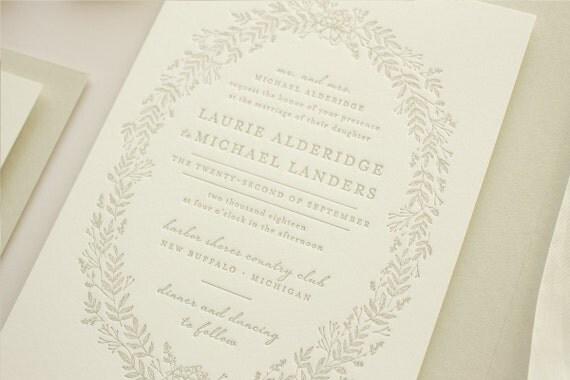 wedding invitations letter