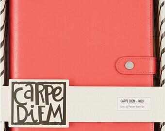 Simple Stories - Carpe Diem - Coral Posh A5 Planner Boxed Set - 4932