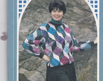 Back Porch Press Vintage Pattern Womens Quilted Pull Over Top Size 6,8,10,12,14,16,18,20,22 UNCUT