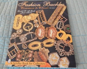 Fashion Buckles - Reference Book by Gerald McGrath and Janet Meana All Color Pictures