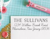 Custom Personalized Address Stamp - ANDI Style
