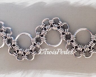 25 Chain Maille bracelet - Chainmaille bracelet