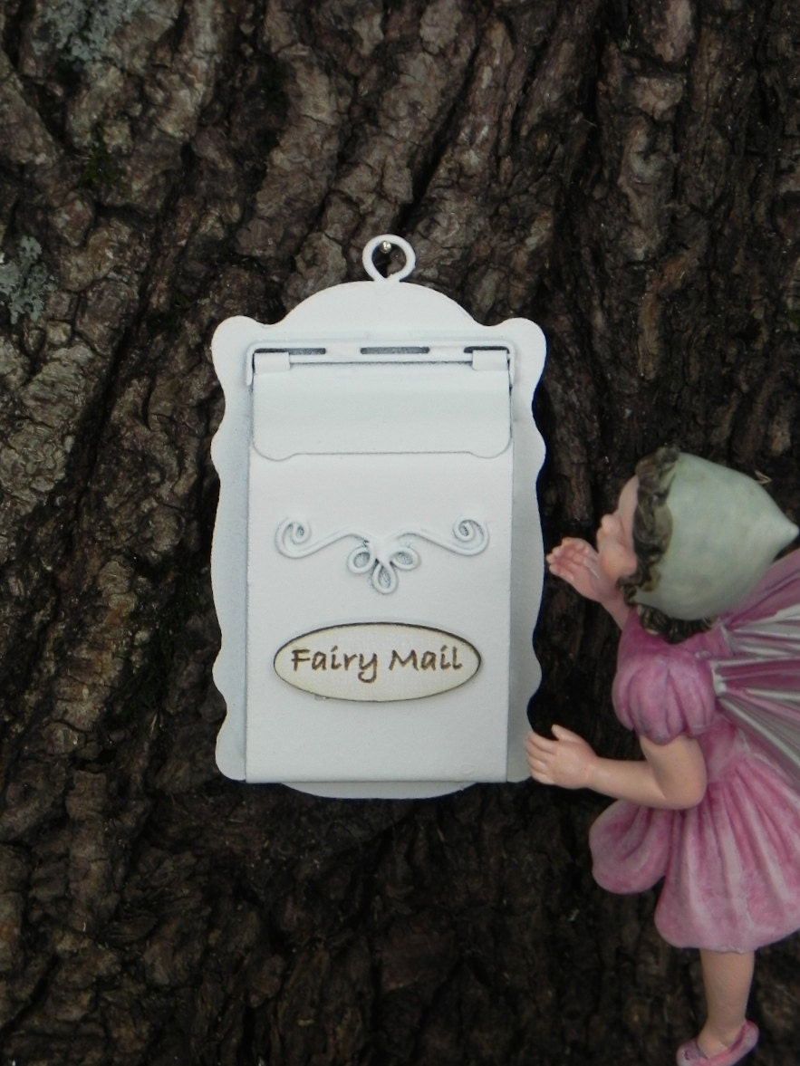 Fairy garden mailbox miniature garden accessories terrarium for Little fairy mailbox