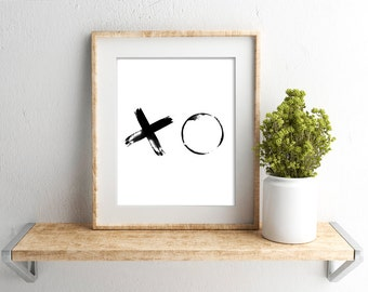 XO Print // Wall Print