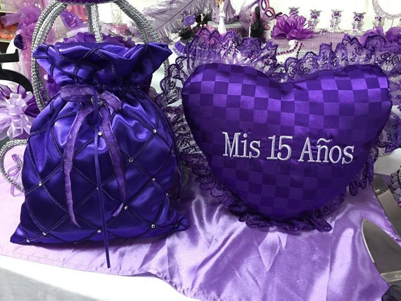 15 Anos Pillows: Mis Quince Shoe Or Tiara Pillow And Money Bag Sweet 15