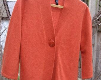 SUNDAY SALE -  Womens or Girls Rust Sweater