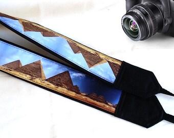 Cool Camera Strap. Pyramids Camera Strap. Egypt  Camera Strap,  Accessories