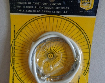 Vintage Royce Union 3 Speed Bike Cable Sturmey Archer Type New Old Stock, sealed in package Item No 1993