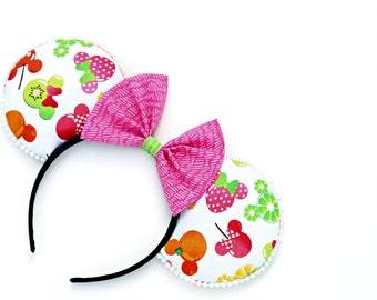 Mickey and Minnie Fruit ears
