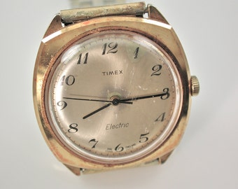 Timex Watch  Vintage Electric Watch