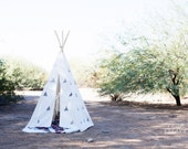 SALE Children's Play Teepee WITH poles